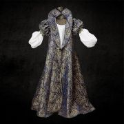 Elizabethan Blue & Gold Dress